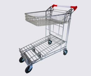 Liquor Trolley w/ Basket